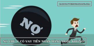 no chu y vay duoc ngan hang nao