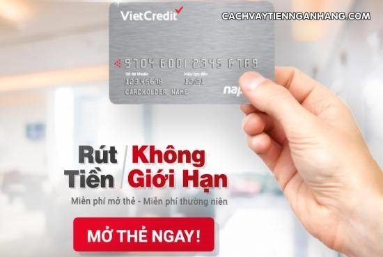 dang ky the vay VietCredit online