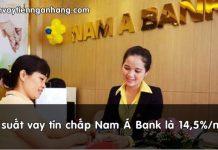 lai suat vay tin chap nam a bank