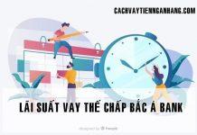 lai suat vay the chap ngan hang bac a