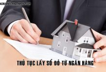 Thu tuc lay so do tu ngan hang