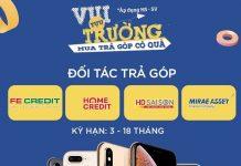 Mua dien thoai tra gop khong can chung minh thu nhap