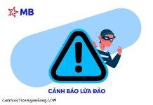 Lừa đảo làm thẻ tín dụng mb bank